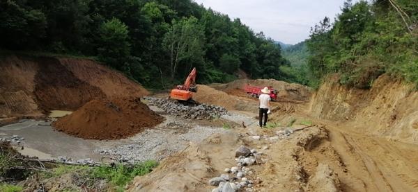 陜西金平礦業有限公司新建飾面用花崗石礦尾渣綜合利用項目土地埡排渣場